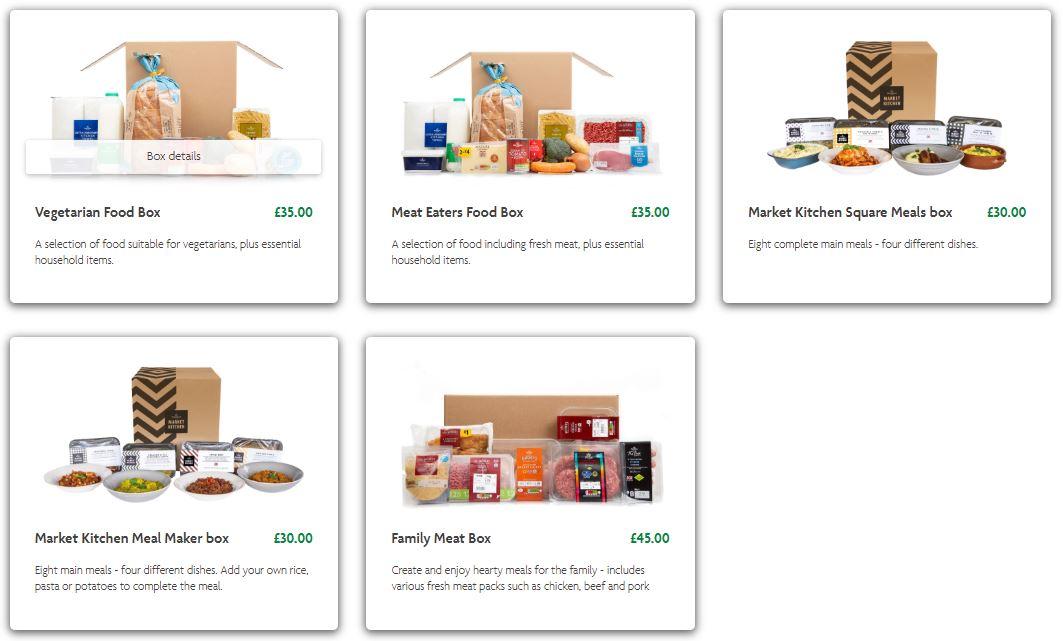 Morrisons Food Boxes